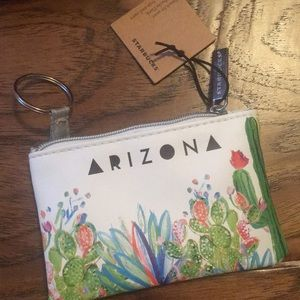 Starbucks coin purse/card holder with keyring
